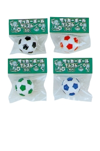 GOMME SOCCER ASSORTIMENT DE 60 PCS