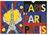 2 CARNETS TOUR EIFFEL-PARIS POP  ASSORTIS 14.8 X 21 CM