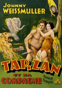 CARNET TARZAN 12 X 18 - 224 PAGES LIGNEES