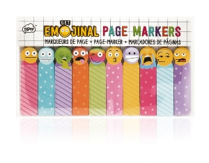 "MARQUE PAGES REPOSITIONNABLES ""EMOJINAL"""