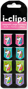 ICLIP LICORNE MARQUE-PAGE MAGNETIQUE