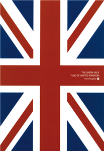NOTEBOOK UNION JACK 18.6 X 25.4 CM - PAGES LIGNEES