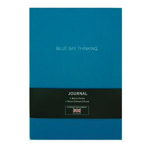 "CARNET LIN A5 ""BLUE SKY THINKING"""