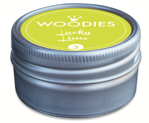 Woodies tampon encreur Lucky Lime (3)