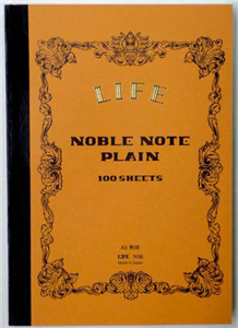 CARNET JAPONAIS LIFE CAMEL NOBLE NOTE DOS CARRE 148 X 210 MM - 200 PAGES