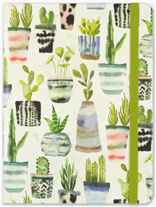 JOURNAL SUCCULENTES 16 x 21 cm