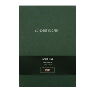 "CARNET LIN A5 ""50 NOTES IN GREY"""
