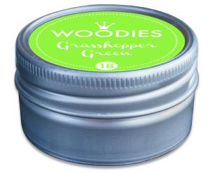 Woodies tampon encreur Grasshopper Green (18) NEON