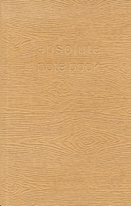 ABSOLUTE NOTE BOOK NATUREL A6 10 X 15 PAGES LIGNEES ROUGES
