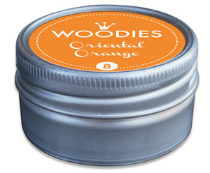 Woodies tampon encreur Oriental Orange (8)