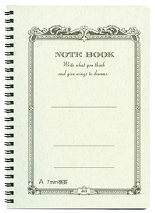 NOTE BOOK B6 182 X 128 mm SPIRALE RECYCLE