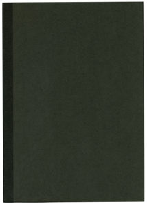NOTE BOOK NOIR - FORMAT B5 252X179MM - 52 PAGES LIGNEES DOS NOIR