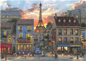 PUZZLE SOIREE A PARIS