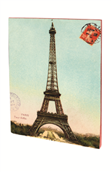 CAHIER PARIS TOUR EIFFEL VINTAGE A5 PIQURES 48 PAGES