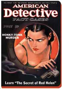 CARNET AMERICAN DETECTIVE 13 X 18 - 224 PAGES LIGNEES