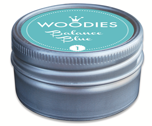 Woodies tampon encreur Balance blue (1)