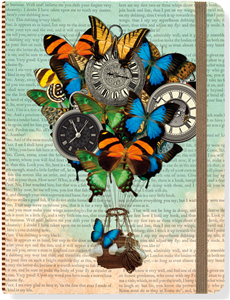 JOURNAL TEMPS QUI PASSE 16 X 21 CM