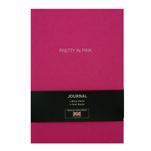 "CARNET LIN A5  ""PRETTY IN PINK"""