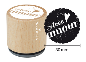 Woodies tampon Avec amour