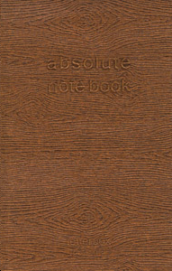 ABSOLUTE NOTE BOOK MORDORE A6 10 X 15 PAGES LIGNEES ROUGES