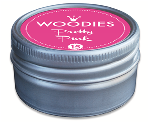 Woodies tampon encreur Pretty Pink (15)